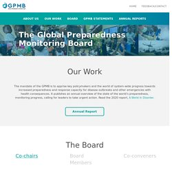 Global Preparedness Monitoring Board