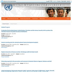 UN Trust Fund for Human Security