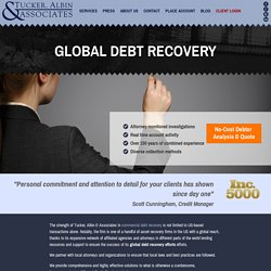 Global Debt Recovery - Tucker, Albin & Associates