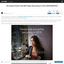 The Global Trends That Will Shape Recruiting In 2015