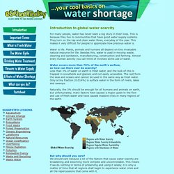 Global water scarcity information for young people