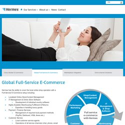 Global Full-Service E-Commerce