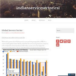 Global Service Sector – indianservicesectoricsi