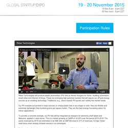 Global Startup Expo - Ribes Technologies