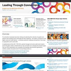 2012 Global CEO Study