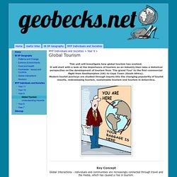 Global Tourism - geobecks.net