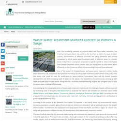 Global Water and Waste Water Treatment Market - BIS Research