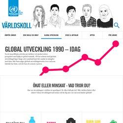 Global utveckling 1990 - idag