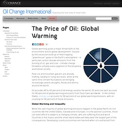 The Price of Oil: Global Warming - Oil Change International