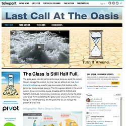 The Global Water Crisis - Find Out More With Last Call at the Oasis