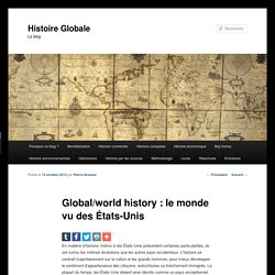 Global/world history : le monde vu des États-Unis