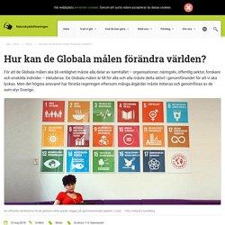 Hur kan de Globala målen förändra världen?