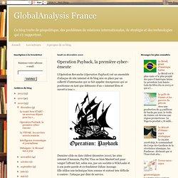 Operation Payback, la première cyber-émeute