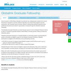 Globalink Graduate Fellowship
