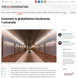 Comment la globalisation bouleverse l'université