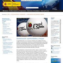 Globalización: oportunidades y riesgos