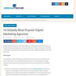 Top 10 Digital Marketing Agencies
