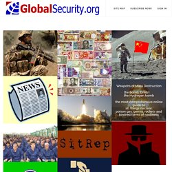 GlobalSecurity.org - Reliable Security Information