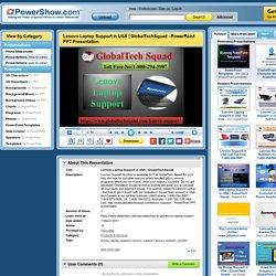 GlobalTechSquad PowerPoint presentation