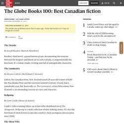The Globe Books 100: Best Canadian fiction