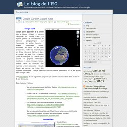 » globe virtuel - Le blog de l'ISO