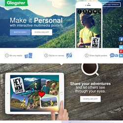 Glogster – Poster Yourself | Text, Images, Music and Video