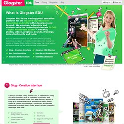 What is Glogster edu? | Glogster EDU - 21st century multimedia tool for educators, teachers and students