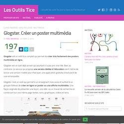 Glogster. Créer un poster multimédia – Les Outils Tice