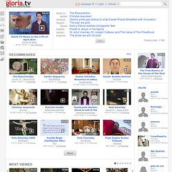 Gloria.tv: ›the more catholic the better‹