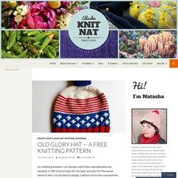 Old Glory Hat — a free knitting pattern