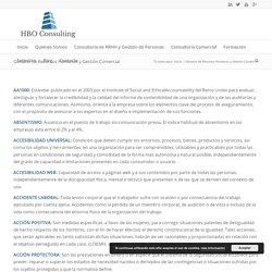 Glosario de Recursos Humanos y Gestión Comercial