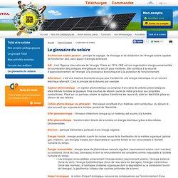Glossaire et définitions - Tout savoir sur l'énergie solaire