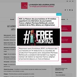 Glossaire « Journalisme » – Maison des journalistes