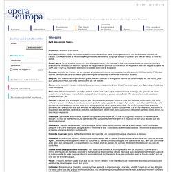 Glossaire - Opera-Europa