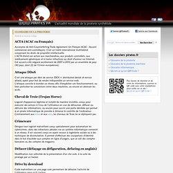 Glossaire de la piraterie - Pirates.fr