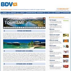 Glossaire du Tourisme - Article : VOYAGE SUR MESURE