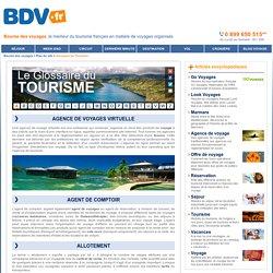 DEFINITION : Glossaire du Tourisme - Article : AGENCE DE VOYAGES VIRTUELLE