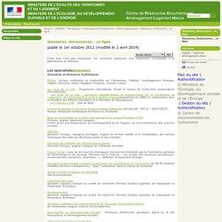Glossaires, dictionnaires... en ligne