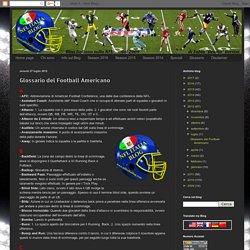 NFL Italia Blog: Glossario del Football Americano