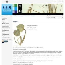 Glossário Botânico » Herbário da Universidade de Coimbra