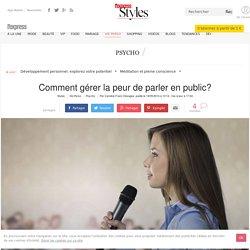 Glossophobie: comment gérer la peur de parler en public?