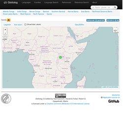 Glottolog 3.0 - Ganda