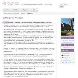 St Margaret, Whaddon - Gloucestershire
