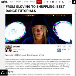 From Gloving to Shuffling: Best Dance Tutorials