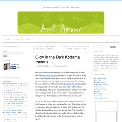 Glow in the Dark Kodama Pattern