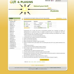 GLPI & Plugins