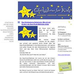 Das Glückssterne-Geheimnis: Wie ich mit Kindern die Zwei-Punkt-Methode erlebe - Glückssterne-für-kids Webseite!