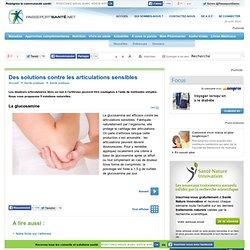Solutions contre les articulations sensibles : La glucosamine