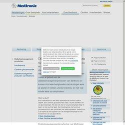 Info over insulinepompen en continue glucosemonitoren van Medtronic