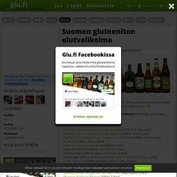 Suomen gluteeniton olutvalikoima - Glu.fi